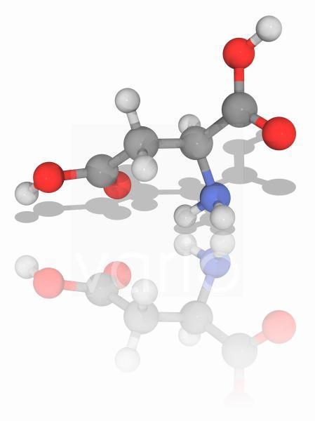 Aspartic organic compound molecule
