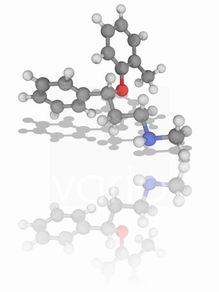 Atomoxetine drug molecule