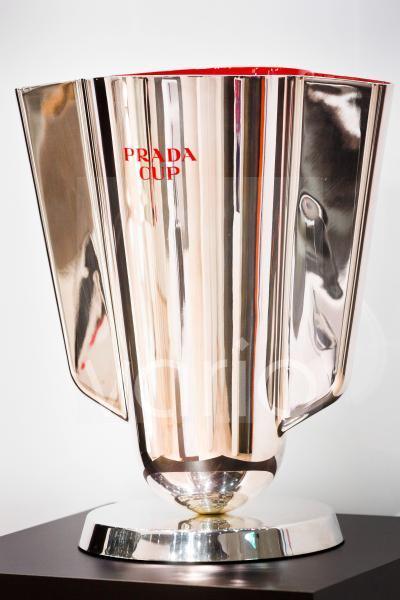DEU, Düsseldorf, 18.01.2020: Der Prada Cup, eine begehrte Segelregatta Trophäe auf der boot 2020