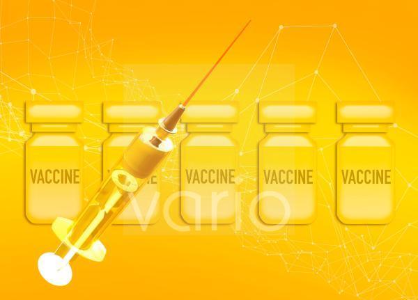 Vaccination scheme, conceptual illustration