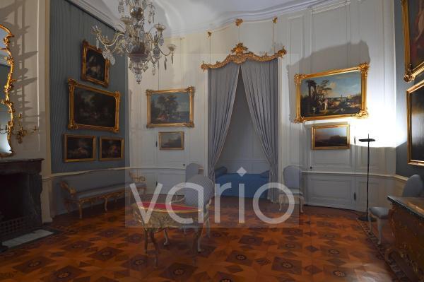 Gästezimmer, Schloss Sanssouci, Park Sanssouci, Potsdam, Brandenburg, Deutschland, Europa