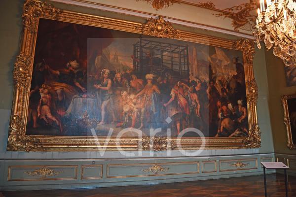 Tamerlanzimmer, Neues Palais, Park Sanssouci, Potsdam, Brandenburg, Deutschland, Europa