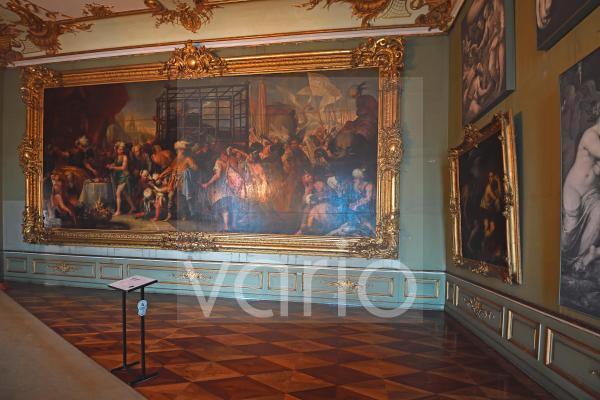 Gemälde, Tamerlanzimmer, Neues Palais, Schloss Sanssouci, Potsdam, Brandenburg, Deutschland, Europa