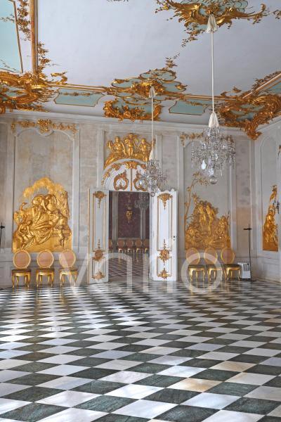 Ovidgalerie, Spiegelgalerie, Neue Kammern, Schloss Sanssouci, Potsdam, Brandenburg, Deutschland, Europa