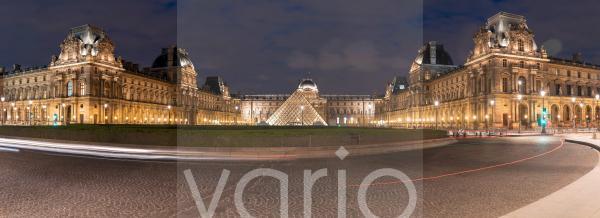 Palais du Louvre, Panorama, Paris, Frankreich, Europa