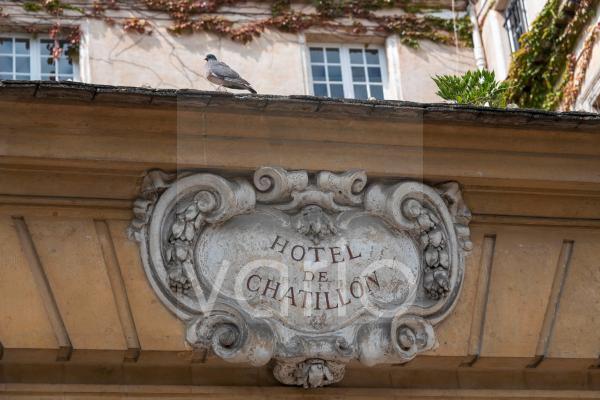 Hotel de Chatillon, Marais, Paris, Frankreich, Europa