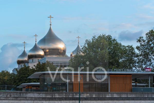 Russisch-orthodoxe Dreifaltigkeitskathedrale, Paris, Frankreich, Europa