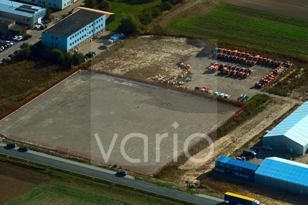 Entwicklungsgebiet und Bauland- Brache An der Mühle in Altlandsberg im Bundesland Brandenburg, Deutschland