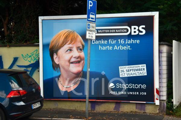 Wahlplakate-Bundestagswahl