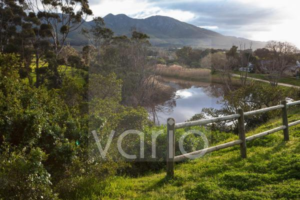Wandel Pad, a hiking and nature trail along a river estuary.