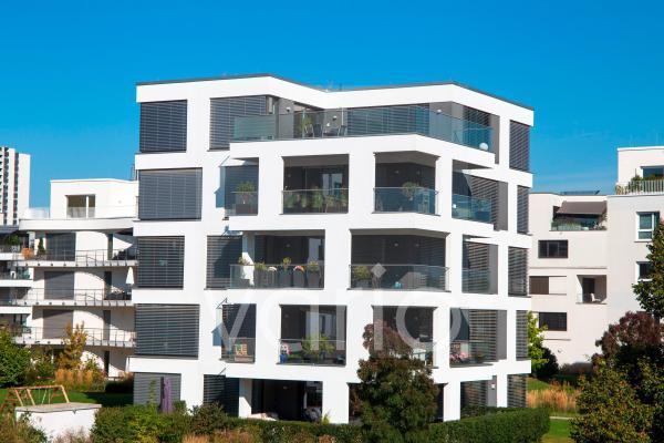 Moderne Wohnanlage im urbanen Stil