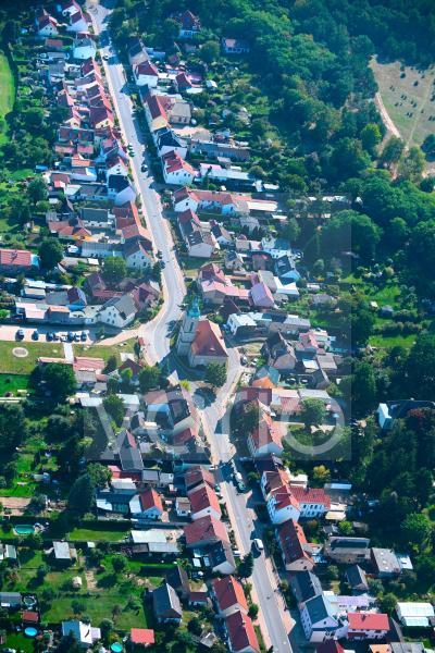 Ortsansicht in Gosen-Neu Zittau im Bundesland Brandenburg, Deutschland