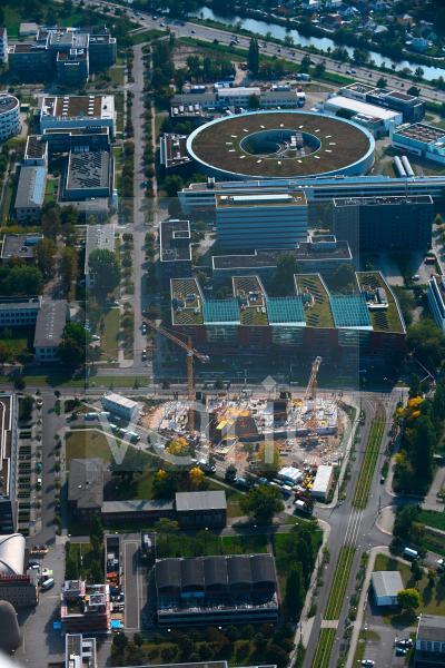 Neubau eines Büro- und Geschäftshauses Steinbeis-Haus Adlershof in Berlin, Deutschland