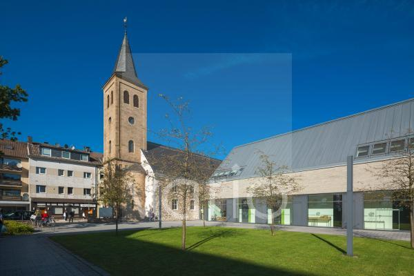 Alte Kirche, Evangelisch-reformierte Stadtkirche, Saalkirche, Barock, Heiligenhaus, Bergisches Land, Niederbergisches Land, Nordrhein-Westfalen