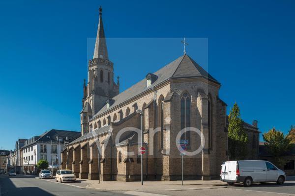 Katholische Pfarrkirche St. Marien, Marienkirche, Basilika, Velbert, Bergisches Land, Niederbergisches Land, Nordrhein-Westfalen