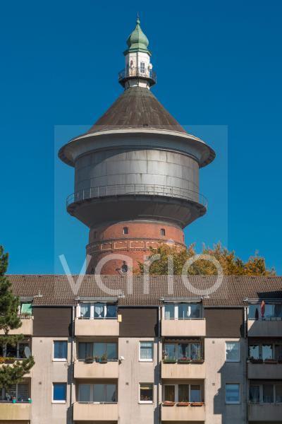 Historischer Wasserturm, Alter Wasserturm in Velbert, Bergisches Land, Niederbergisches Land, Nordrhein-Westfalen