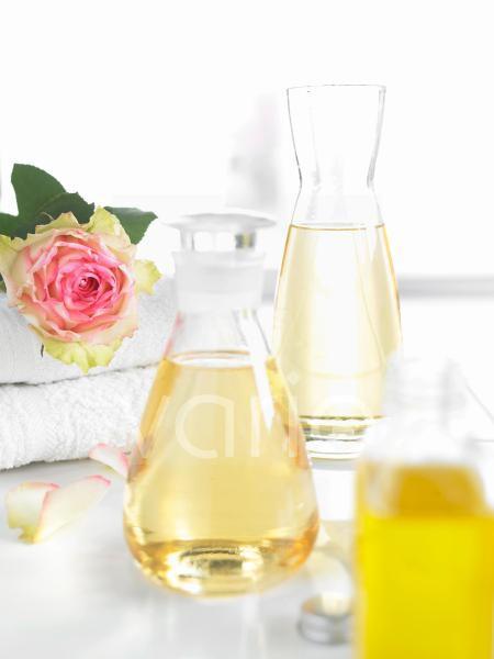 Öle für die Schönheitspflege